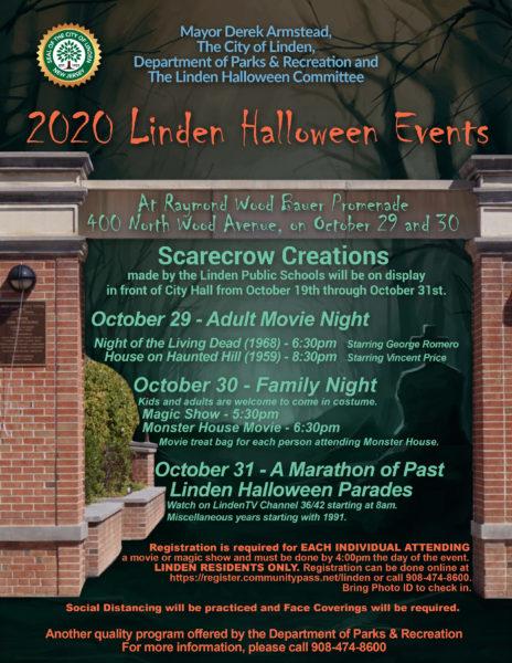 Nj Halloween Events 2020 2020 Linden Halloween Events – City of Linden